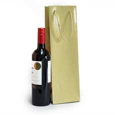 Gold Gloss Wine Bottle Gift Bags