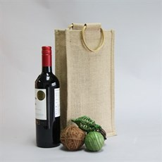Two Bottle Jute Bags