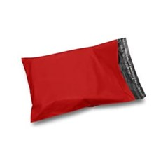 Red Mailing Bags - Recycled Plastic