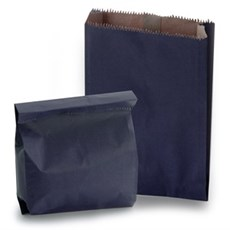 Blue Heavyweight Kraft Paper Bags