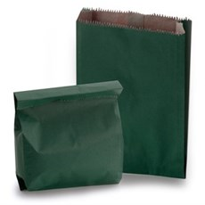 Green Heavyweight Kraft Paper Bags