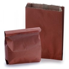 Red Heavyweight Kraft Paper Bags