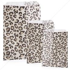 Leopard Design Paper Bags