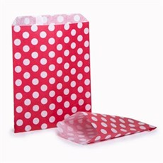 Red Polka Dot Paper Bags