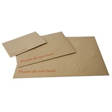 Brown Board Back Envelopes