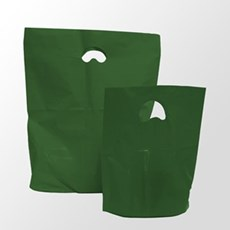 Harrods Green Premium Degradable Plastic Carrier Bags
