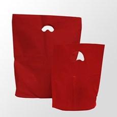 Red Premium Degradable Plastic Carrier Bags
