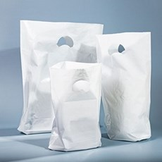 White Paper Carrier Bags Coloured Paper Bags Carrier Bag