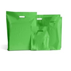 Light Green Standard Grade Plastic Carrier Bags