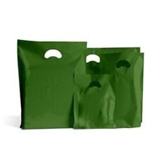 Harrods Green Standard Grade Plastic Carrier Bags