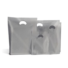 Silver Classic Plastic Carrier Bags [Standard Grade]