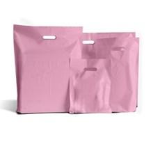 Pink Standard Grade Plastic Carrier Bags