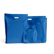Royal Blue Standard Grade Plastic Carrier Bags