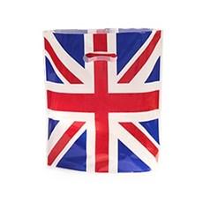 Union Jack Print Standard Plastic Carrier Bags