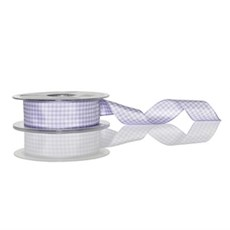 Lilac Gingham Ribbon [910]