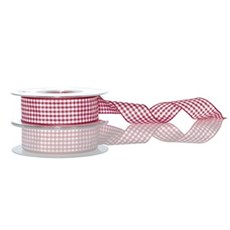 Red Gingham Ribbon [15]