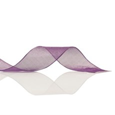 Purple Organza Ribbon [49]