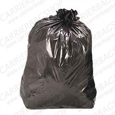 Economy Black Refuse Sacks