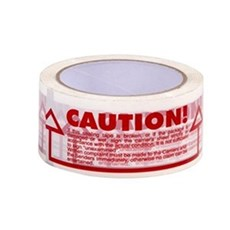 Caution Printed PVC Tape