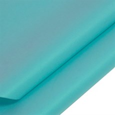 Turquoise Coloured Standard M. G. Tissue Paper