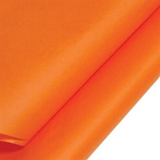 Orange Coloured Standard M. G. Tissue Paper