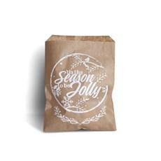 Rustic Design Brown Kraft Paper Bag