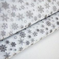 Silver Snowflake Acid Free Premium Christmas Tissue Paper [MF]