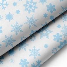 Blue Snowflake Acid-Free Premium Christmas Tissue Paper [MF]