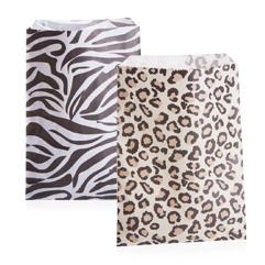 Animal Print Paper Bags