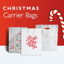 Christmas Carrier Bags