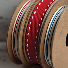 Coloured Grosgrain Ribbons