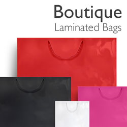 Boutique Laminated Paper Bags