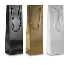 Laminated Wine Bottle Bags