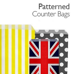 Patterned Counter Bags