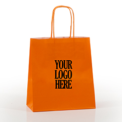 Printed Coloured Paper Bags