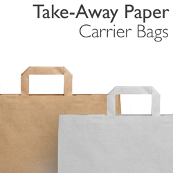 SOS Paper Carrier Bags