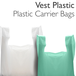 Vest Plastic Carrier Bags