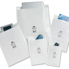 White Jiffy Envelopes