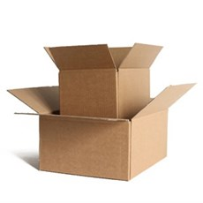 "Single Wall Cardboard Boxes - 12"" x 9"" x 4"""