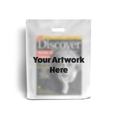 Frosted Printed Plastic Carrier Bags