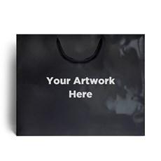 Black Printed Gloss Laminated Bags