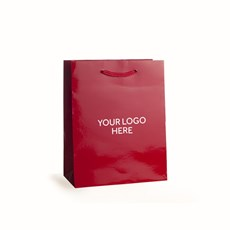 Red Printed Gloss Laminated Bags