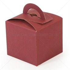 Mini Gift Boxes Burgundy