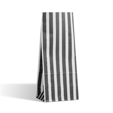 Black Stripe Pick n Mix Paper Bags