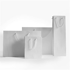 White Natural Kraft Boutique Gift Bags