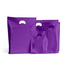 Purple Classic Plastic Carrier Bags [Standard Grade]