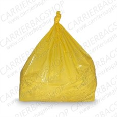 Yellow Refuse Sacks