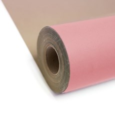 Baby Pink Kraft Roll Wrapping Paper