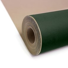 Dark Green Kraft Roll Wrapping Paper