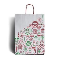 Christmas Bags.Iconic Christmas Premium Carrier Bags